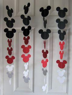 Decoração que você mesma pode fazer para a festa com o tema Casa do Mickey Mouse do seu filho!