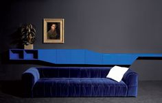 Arflex Finds Its New Home At Space : Strips sofa by Cini Boeri and Hillside by Claesson Koivisto Rune.