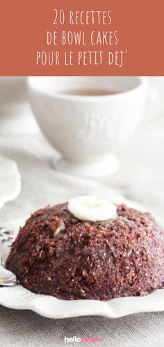 20 recettes de bowl cakes pour un petit déjeuner de champion ! #bowlcake #petitdejeuner #healthy #recettefacile #recette #cuisine