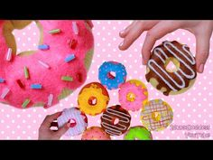 How To Make Donuts Out Of Socks - 9 DIY Donuts No-sew Projects (Pillow, Stress Toy, Hand Warmers) - YouTube
