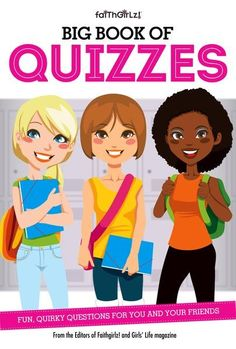 New to the Faithgirlz! series, The Big Book of Quizzes offers a fun way to look at yourself, your quirks, hobbies, habits, favorites, and more, to learn more about yourself, set goals, and discover ways to become the best you possible.