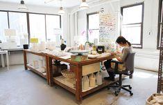 Inside Jill Rosenwald's Studio