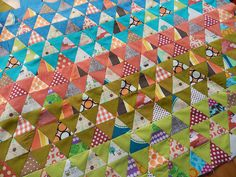 Pyramid Quilt...WIP | Flickr - Photo Sharing!