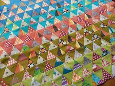 Pyramid Quilt...WIP | Flickr - Photo Sharing!