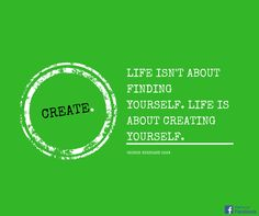 Create your life the way you want it!  #Zitat #Spruch #Quote #Leben