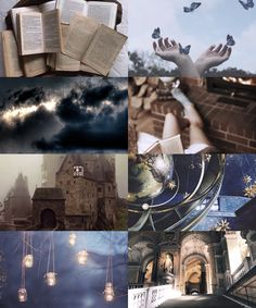 Thunderclaw (Hogwarts - Ravenclaw and Ilvermorny - Thunderbird)<<this is literally me Harry James Potter, Harry Potter World, Ravenclaw, Witch Aesthetic, Aesthetic Collage, Lord Voldemort, Thunderbird Ilvermorny, Film Manga, Harry Potter Aesthetic