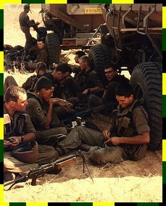 """battle-mind: """"South African infantrymen take a break. Notice the v-shaped hull of the APCs. Once Were Warriors, South African Air Force, Army Day, Brothers In Arms, Defence Force, We Are Young, Cold War, Armed Forces, Vietnam"""