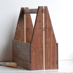 Tool Box by Meriwether of Montana // nice timber craftsmanship and attention to detail #productdesign