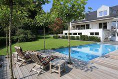 Urlaubsort Garten: ein Pool macht's möglich