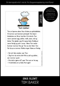 En+helt+ny+leseserie+med+fokus+p+leseforstelse,+letelesing,+rettskriving,+gjenkjennelse+av+ord,+hyfrekvente+ord+og+stavelsesdeling.+Flere+Sm+glimt+finner+du+bde+i+ulike+mnedspakker+og+som+egne+frittstende+pakker.+Les+mer+om+Sm+glimt+p+www.annerledes.org.+ Toms, School, Schools