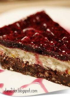 Clipe dulci si parfumate: Cheesecake cu fructe de padure