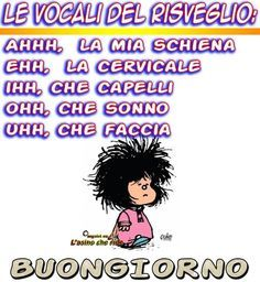 Non so tu,ma io mi ci ritrovo. Funny Images, Funny Pictures, Funny Pics, Snoopy, Good Morning Funny, Feelings Words, Day For Night, Love Poems, Smiley