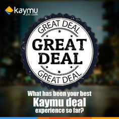 Kaymu gives you great deals you cant do without.
