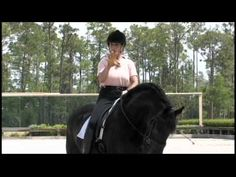 Dressage Trainer Jane Savoie Uses Leg Yields to Help with Canter Transitions