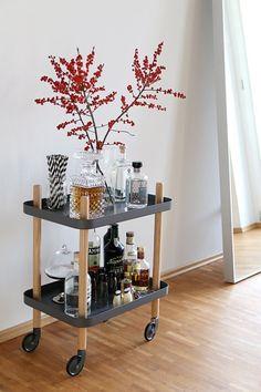 Norman Copenhagen Bar Cart | home decor + styling