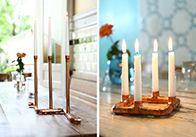 Der Kupfer-Kerzenhalter ist ein echter Hingucker. Erfahren Sie in dieser OBI Selbstbauanleitung, wie Sie das Deko-Element ganz einfach anfertigen können.