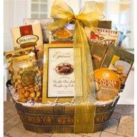 """Sweet Memories"" Sympathy Gourmet Gift Basket"