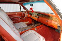 1970 Dodge Charger RT Interior