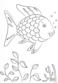 Rainbow Fish Printables August Preschool Themes Child Care 276602