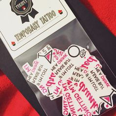 I'm getting married - I'm getting drunk Bacheloretteparty Temporary Tattoo