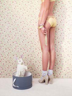 Ensemble Cupcake de Huit #LemonCurve #lingerie #huit #cupcake #yellow