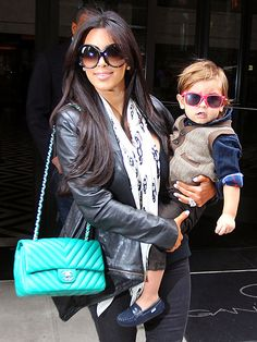 loving both outfits!   the chanel bag is to die for !!!