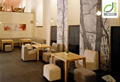 CAFES! Cafe April by Ryntovt Design, Moscow