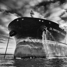 Photographies d'art de la Marine Marchande Majesty Of The Sea, Tanker Ship, Oil Tanker, Photo D Art, Brest, Nautical Art, Water Crafts, Ships, Artwork