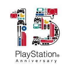 PlayStation15周年のロゴ:コードで視認性をあげる | ロゴストック