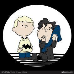Sherlock Peanuts A Regular Blanket-Toting Detective Shirt