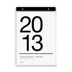 2013 Tissue Calendar   www.russellandhazel.com
