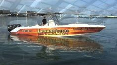 Boat Wraps, Graphics, Floating Billboard,  Boat Graphics, Personalized L...