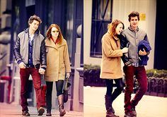 Emma Stone & Andrew Garfield...I totally approve.
