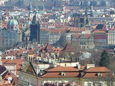 Castle District (Hradcany): area surrounding Prague Castle (across river, views of city)