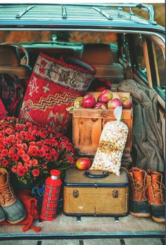 Plan a weekend trip to the mountains to enjoy the fall foliage.