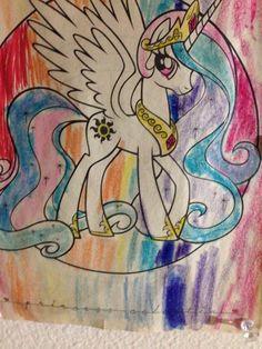My little pony friendship is magic, princess celesta