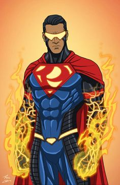 """Eradicator"" sponsored by an anonymous backer for Roysovitch's project. Character belongs to DC Comics. Marvel Dc Comics, Dc Comics Superheroes, Dc Comics Art, Marvel Heroes, Anime Comics, Superhero Characters, Dc Comics Characters, Superman Drawing, Black Superman"