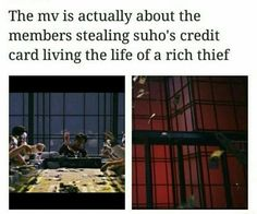 Yes that's why suho burned all the money so no one could have it