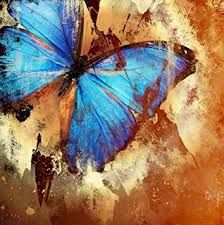 Image result for butterfly abstract painting