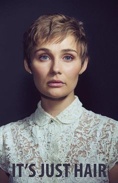 The Touching Reason Clare Bowen Just Cut Off Her Hair Will Make You Cry--It should also make people THINK before they shoot their mouths off and say mean things about a woman's hair.  It's.  Just.  HAIR. . . .