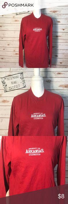 Ladies Red Oak Arkansas Razorback t shirt Red Oak/ Size medium/ Great Condition/ Happy Poshing! Red Oak Tops