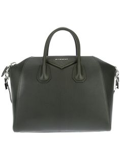 Givenchy 'Antigona', hunter green is one my favorite colors to wear, beautiful bag