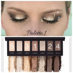 Younique palette #1 Love this neutral palette! so many options!!