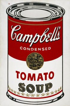 Andy Warhol - Campbell's tomato soup