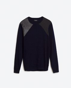 Image 6 of CONTRAST SWEATER from Zara