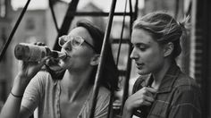"""""""Frances Ha"""" (I like how Sophie's frames shine through almost the entire movie)."""