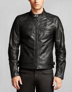 Collingwood Leather Jacket @belstaff // #Fashion #Designer #Menswear #Leather #Biker #Jacket #Outfit #Luxury // Browse @damee1's boards for more fashion inspiration [https://www.pinterest.com/damee1/]