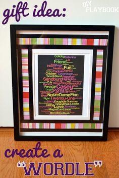 "Creating a ""Wordle"" - DIY Playbook"