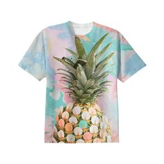 Original photography + arts by: Elise Mesner  Pineapple T-Shirt from Print All Over Me