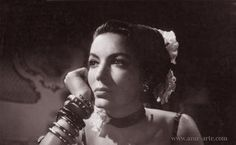 Maria Felix...a dreamy look in her pretty eyes.